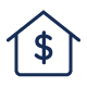 House Dollar Sign Icon