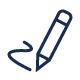Pencil Signing Icon