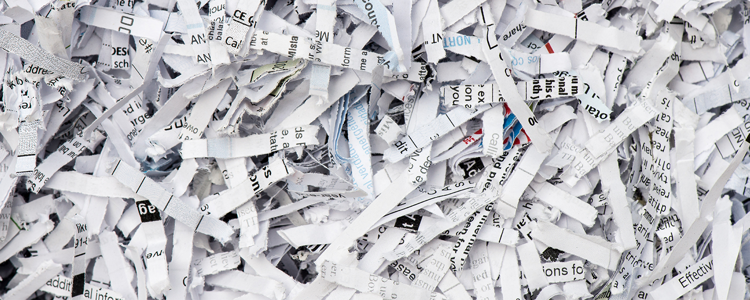Shredded Files For Shred Event Blog