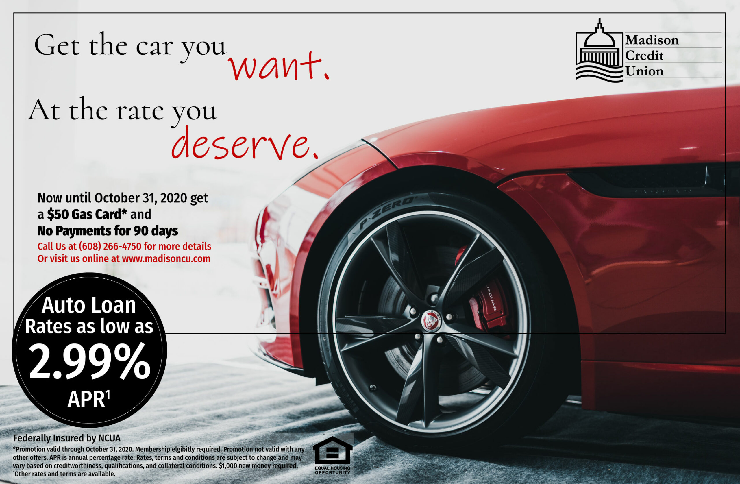 Fall Car Loan Promo
