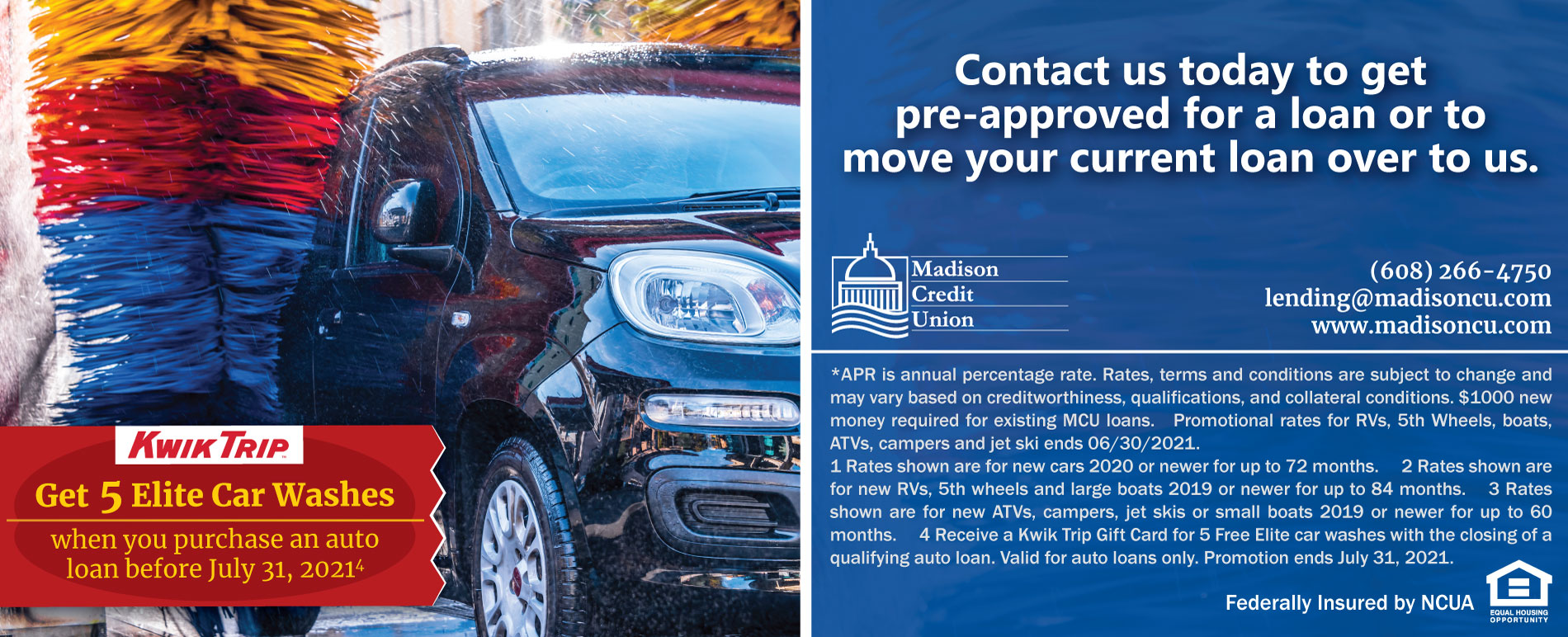 Free Car Wash Promotion